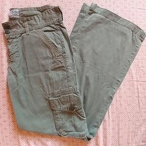 LUCKY olive green cargo pants